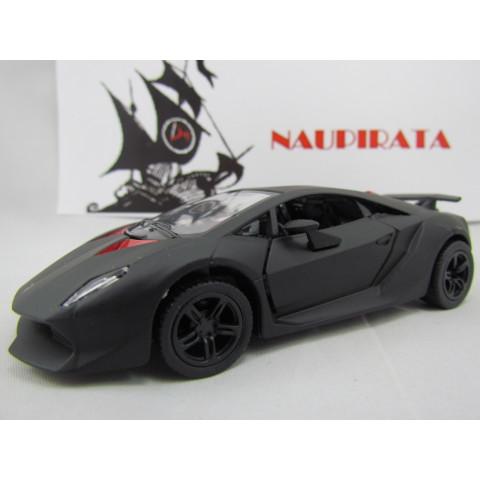 Lamborghini Sesto Elemento Preto Fosco  Kinsmart  1:38