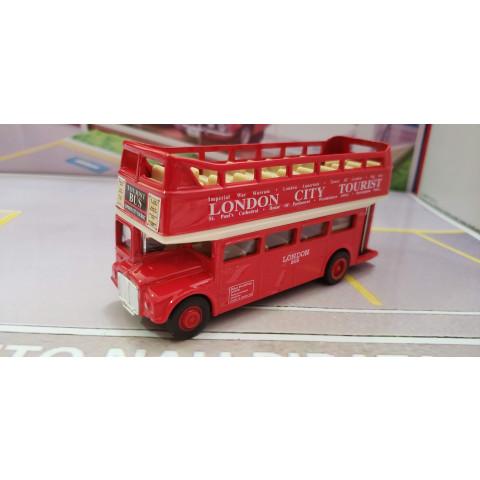 London Bus Double Deck Turístico AEC Routemaster Welly 1:64