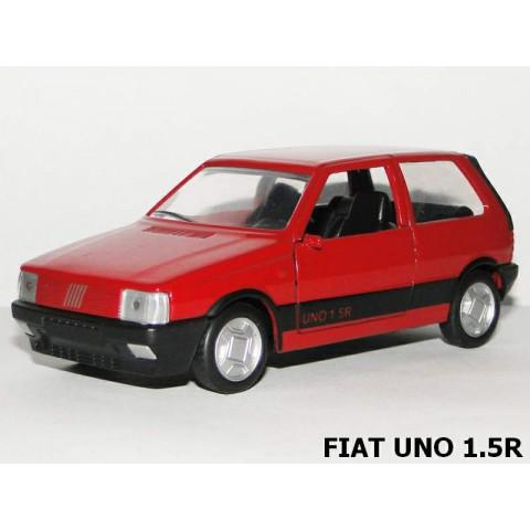 Miniatura Clássico Nacional FIAT Uno 1.5R 1988/1989 1:38