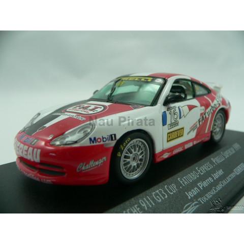 Porsche 911 GT3 Cup Faturbo Express Pirelli Supercup 1999 #16 Jean Pierre Jarier 1:43 Onyx Models