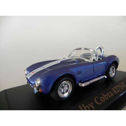 Shelby Cobra 427 S/C 1964 Azul - Yatming 1:43