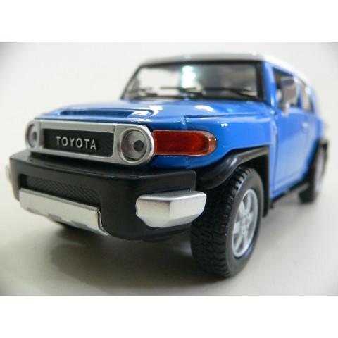 Toyota FJ Cruiser Azul Kinsmart 1:36