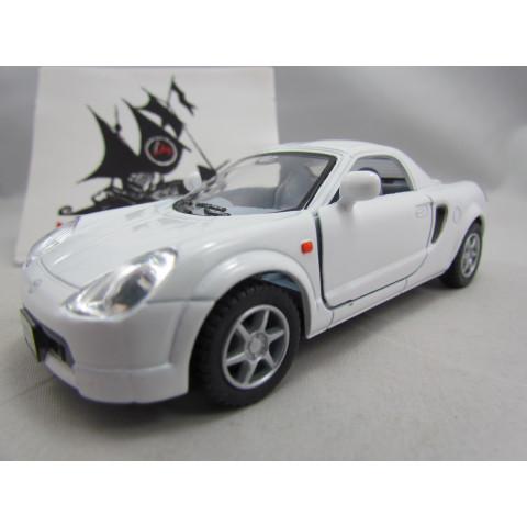 Toyota MR2 2007 Branco Kinsmart 1:32