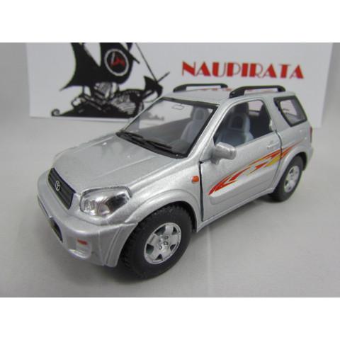 Toyota Rav4 2004 Prata Kinsmart 1:32