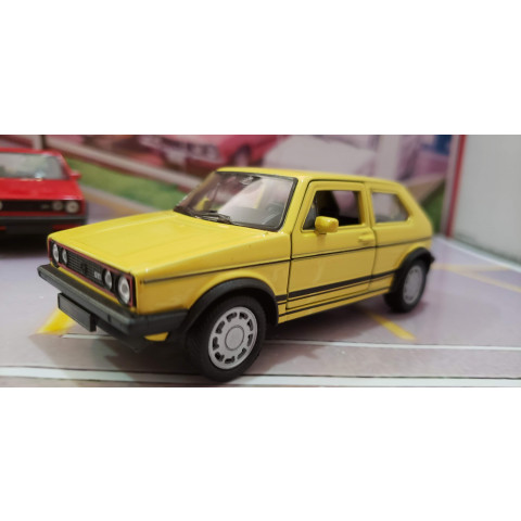 Volskwagen Golf MKI GTI 1980/1981 Amarelo Welly 1:38