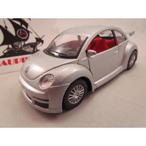VW New Beetle (Fusca) RSI Prata Kinsmart 1:32