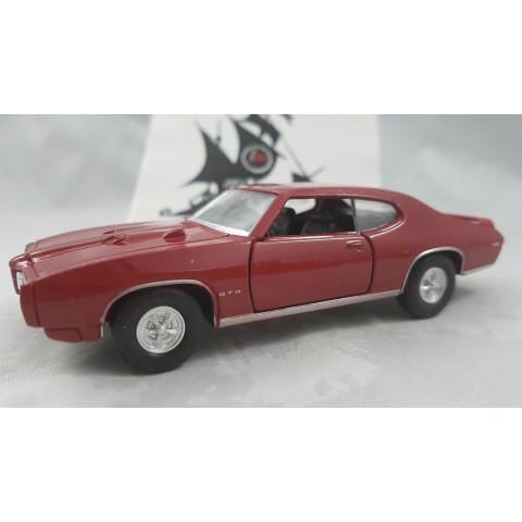 1969 Pontiac GTO Vermelho Welly 1:36