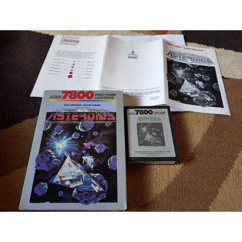 1979 Asteroids Completo Atari 7800