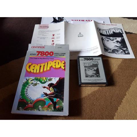 1980 Centipede Completo Atari 7800