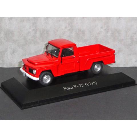 Carros Inesquecíveis FORD F-75 1980 1:43 IXO