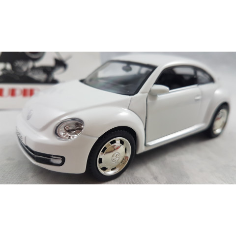 2012 Volkswagen Fusca Novo Branco 1:32 RMZ
