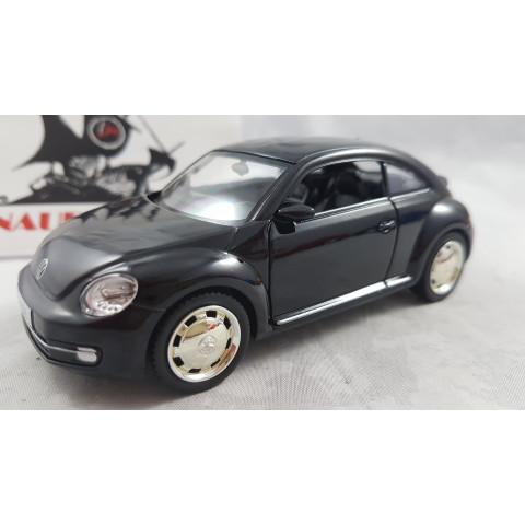 2012 Volkswagen Fusca Novo Preto 1:32 RMZ