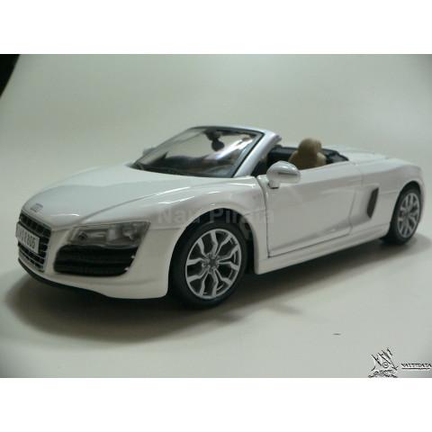 Audi R8 Spyder Branco Maisto 1:24