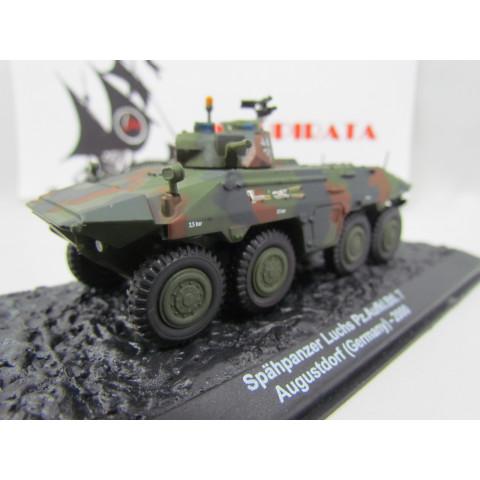Blindado Spähpanzer 2 Luchs A1 Pz.Aufkl.Btl. 7 Augustdorf (Germany) - 2000 IXO ALTAYA - 1:72 #01