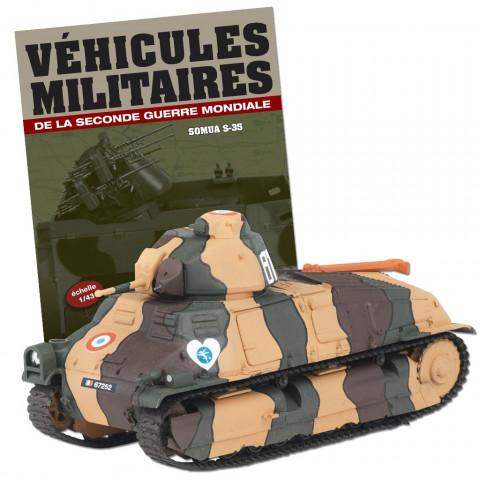 Blindado Tanque Série Veículos Militares 2° Guerra Mundial Somua S-35 1Ère Dlm Quesnoy (France) 1940