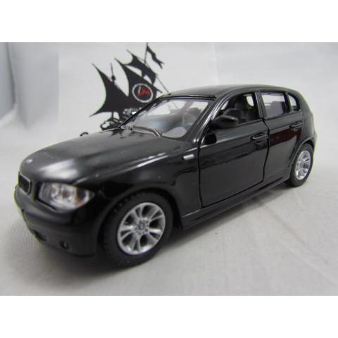 BMW Serie 1 Preta  Kinsmart 1:34