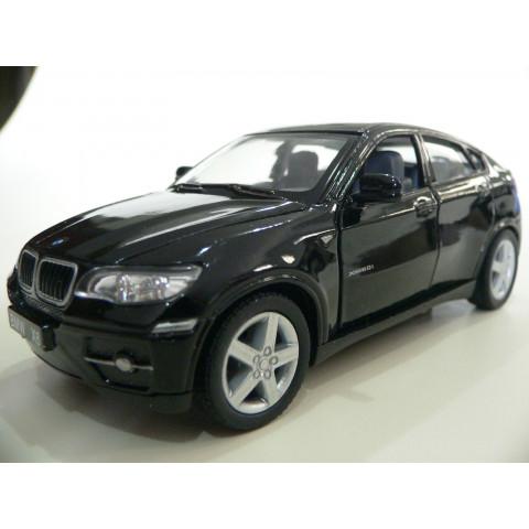 BMW X6 Preta Kinsmart 1:38