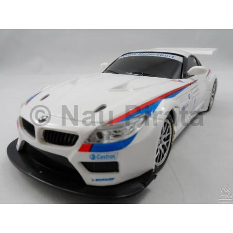 BMW Z4 GT3 Controle Remoto 1:24 Branca R/C Réplicas