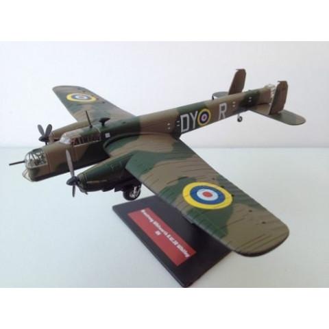 Bombardeiro 2ª Guerra Mundial Armstrong Whitworth A.W. 38 Whitley RAF 1/144 Altaya/IXO #41
