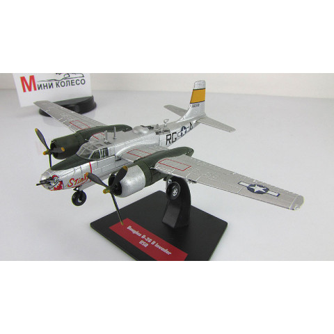 "Bombardeiro 2ª Guerra Mundial Douglas A-26 A Invader ""Stinky"" USAAF 1/144 Altaya/IXO #27"