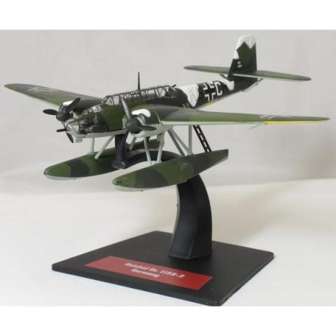 Bombardeiro 2ª Guerra Mundial Heinkel HE-115 B2 Floatplane K6+CH Luftwaffe 1/144 Altaya/IXO #19