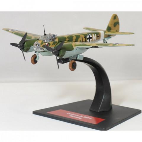 Bombardeiro 2ª Guerra Mundial Junkers Ju 88A-4  Luftwaffe 1/144 Altaya/IXO #23
