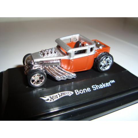 Bone Shaker Vermelho/Prata Mattel 1:87