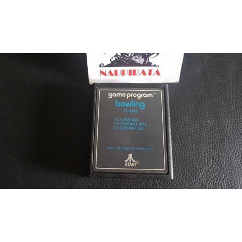 Bowling 1979 Atari Label Original Atari 2600