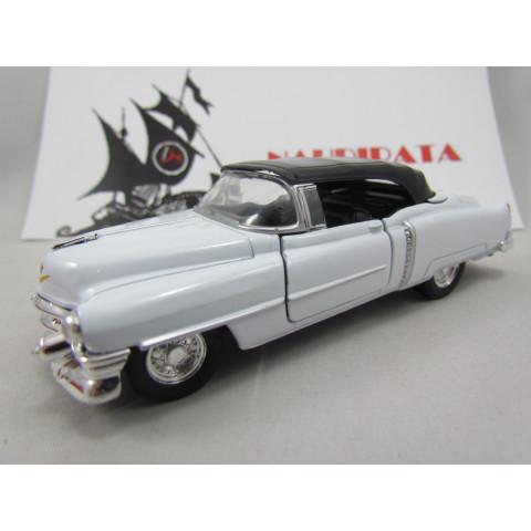 Cadillac Eldorado 1953 Branco Welly Fechado