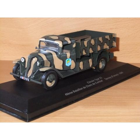Caminhão Série Veículos Militares 2° Guerra Mundial Citroen Type 23 (France) 1940