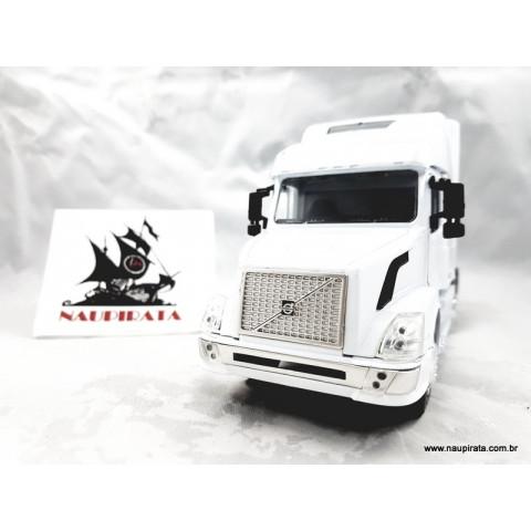 Caminhão Volvo Longhauler Branco 1:32 NewRay