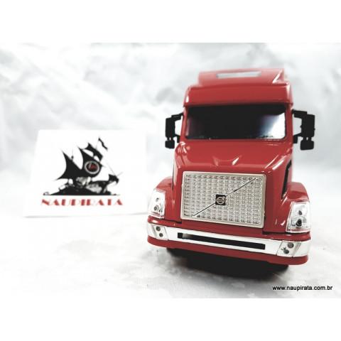 Caminhão Volvo Longhauler Vermelho 1:32 NewRay