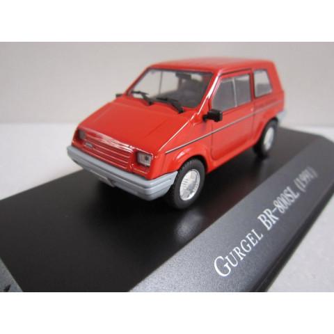 Carros Inesquecíveis do Brasil Gurgel BR-800 SL 1991 1:48
