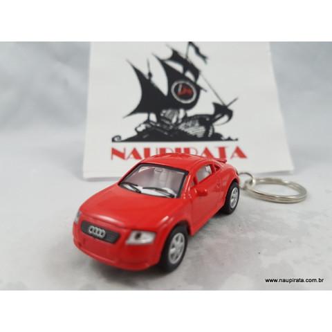 Chaveiro Audi TT Coupé Vermelho 1:64 Kinsmart