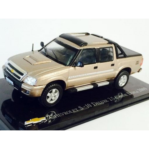 Chevrolet Collection S-10 S10 Deluxe 2.5 Cabine Dupla 2009 1:43
