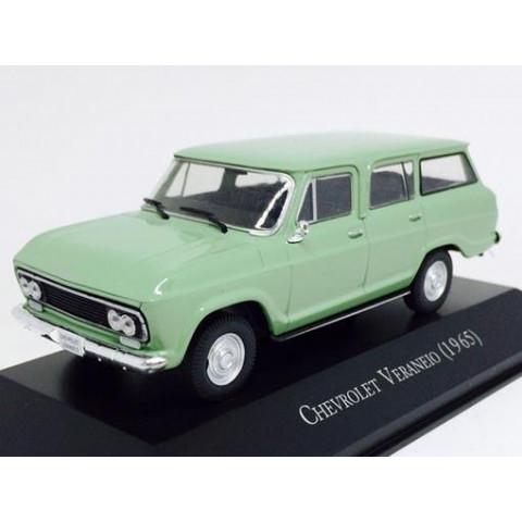 Carros Inesquecíveis do Brasil Chevrolet Veraneio 1965 1:43