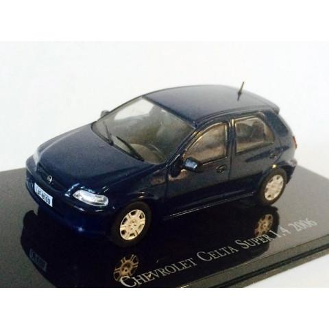 Chevrolet Collection Chevrolet Celta Super 1.4 2006 1:43