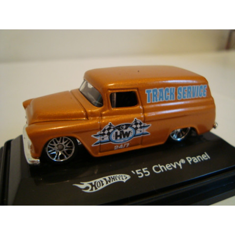 Chevy Panel 55 Laranja Mattel 1:87