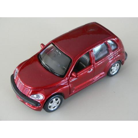 Chrysler PT Cruiser Vermelho Perolizado Maisto 1:39