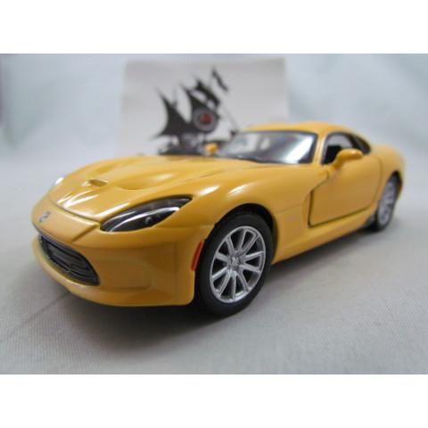 Dodge Viper GTS SRT 2013 Amarelo Kinsmart 1:36