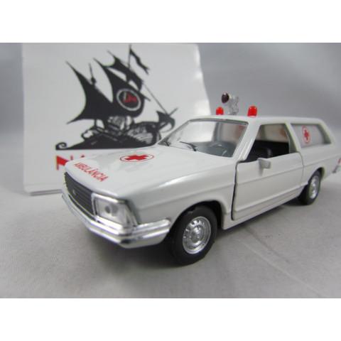 Ford Belina II L 1981 Ambulância Branca 1:43
