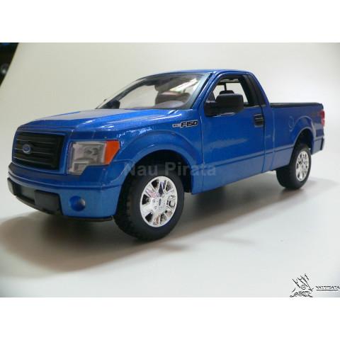 Ford F-150 F150 Pickup STX Azul Maisto 1:27