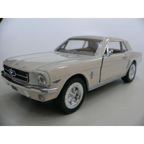 Ford Mustang 1964 1/2 Bege- Kinsmart 1:36