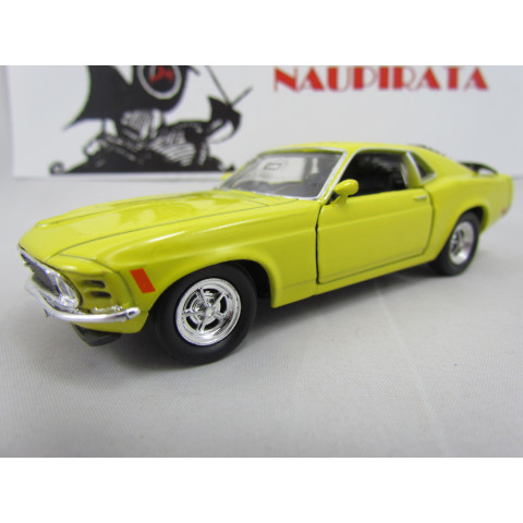 Ford Mustang Boss 302 1970 Amarelo Welly