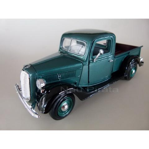 Ford Pickup 1937 Verde Motormax 1:24