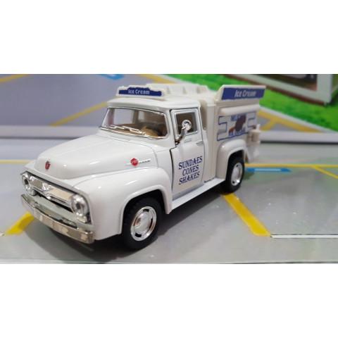 Ford Pickup F-100 1956 Ice Cream Truck Kinsmart 1:38