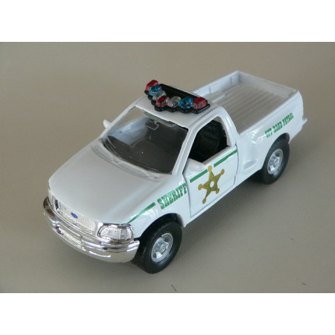 Ford Pickup F-Series Policia Maisto 1:46