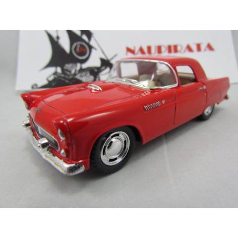 Ford Thunderbird 1955 Vermelho Kinsmart 1:36