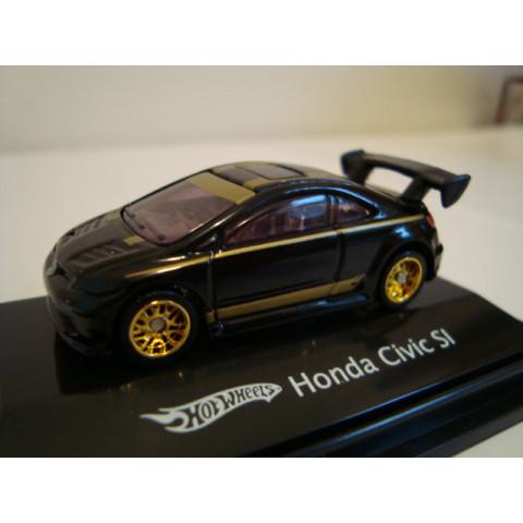 Honda Civic SI Preto Mattel 1:87