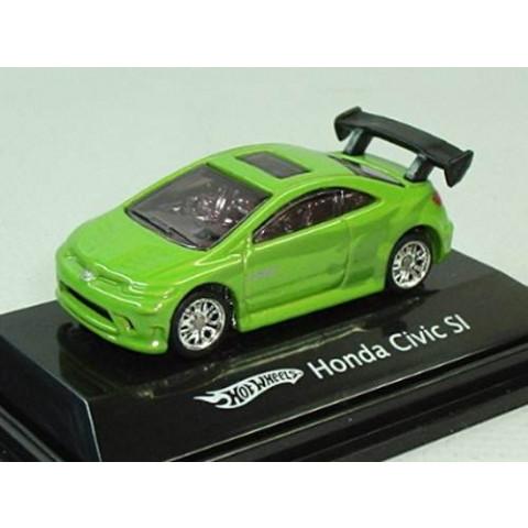 Honda Civic SI Verde Mattel 1:87